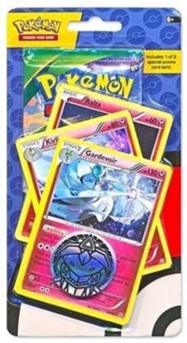 2X Gardevoir 3 Card Set Blister Pack Coin /& Random Booster New Sealed