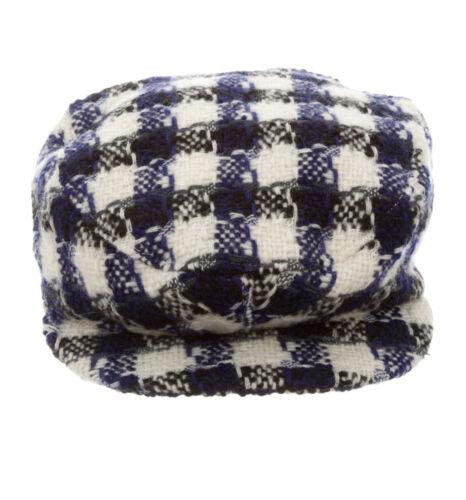 Chanel Tweed Newsboy Hat