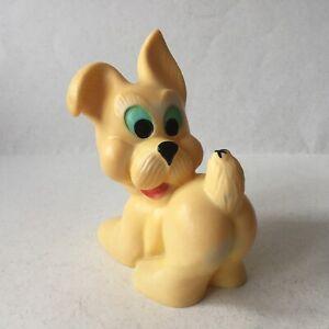 Vintage-Rubber-Toy-Doll-Pappy-Dog-Biserka-Zagreb-Ex-Yugoslavia-Art-73