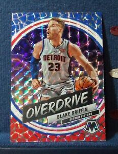 Blake-Griffin-2019-20-Panini-Mosaic-OVERDRIVE-INSERT-PRIZM-SSP-HOBBY-ONLY