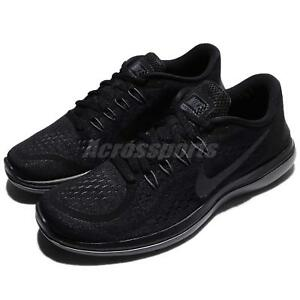 0f087a852e45 Nike Flex 2017 RN Run Black Men Running Shoes Sneakers 898457-005