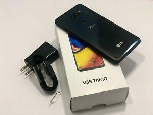 LG-V35-Multi-64-Go-Noir-ou-Gris-pour-T-Mobile-Cricket-at-amp-t-Metro-GSM-Debloque