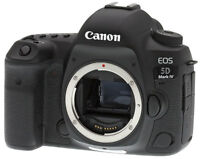 Canon EOS 5D Mark IV 30.4MP 4K Ultra HD Wi-Fi Digital SLR Camera Body (Black)
