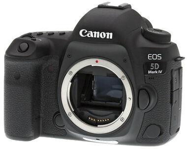 Canon EOS 5D Mark IV 30.4MP 4K UHD DSLR Camera Body