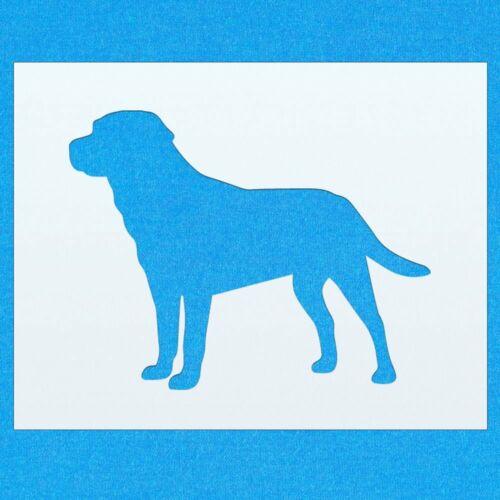 Labrador Perro Mylar plantilla de pintura Pared Arte Decoración Hogar Hazlo tú mismo Arte Manualidades