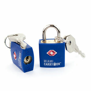 Miami-CarryOn-TSA-Approved-Padlock-Best-Keyed-Luggage-Lock-Dark-Blue