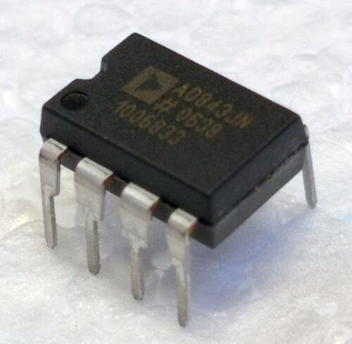AD843JNZ  AD843JN  Analog Device  OpAmp  34MHz  250V//us  CBFET  DIP8  #BP 2 pcs