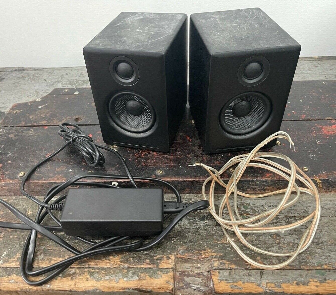 Audioengine A2 Black Desktop Powered Speakers - pair of two (2). Buy it now for 179.99