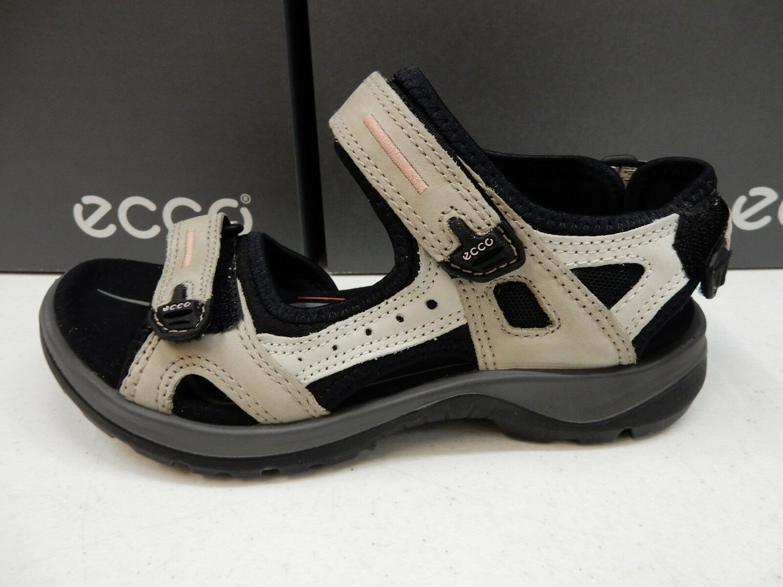 ECCO WOMENS SANDALS YUCATAN ATMOSPHERE ICE SIZE EU 37 37 37 18f7b2
