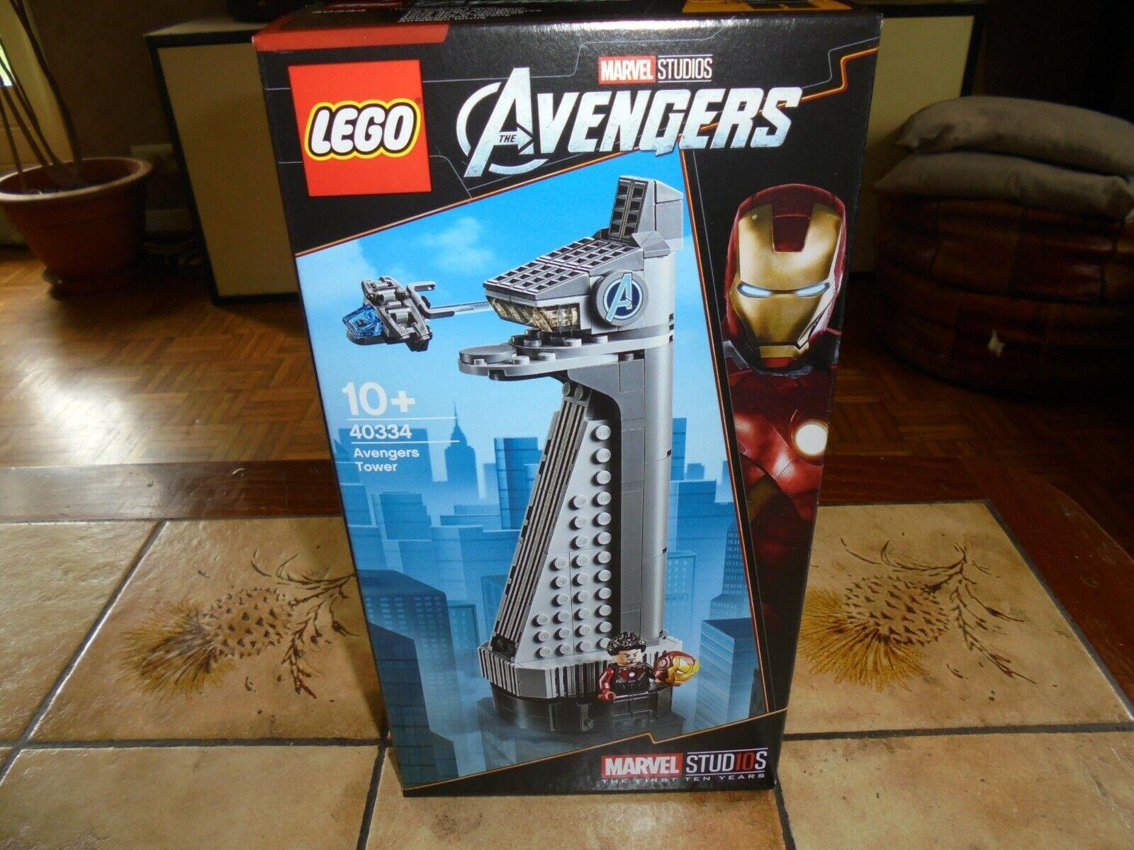 Lego MARVEL 40334 AVENGERS TOWER, NEUF