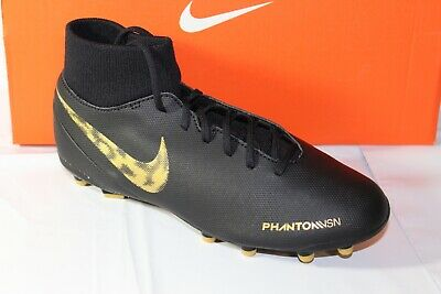 NIKE PHANTOM VSN CLUB DF FGMG CLEAT, MEN SIZE 5.5WOMEN SIZE 7, BLK, AJ6959 077 | eBay