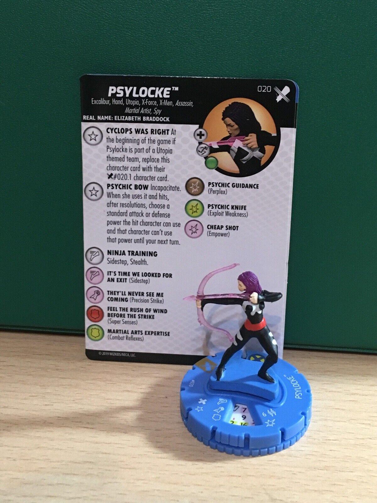 Marvel Heroklix X-Men  Regesens - 020 Psylocke