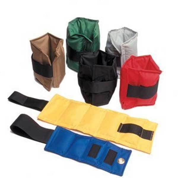 Cando Econocuff Ankle Wrist Weight Pair-Made of Heavy-Duty Coated Nylon Material