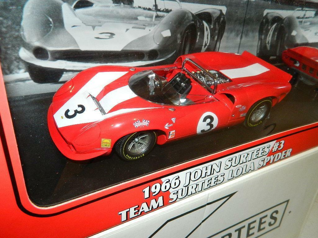 GMP Lola T70 T70 T70 Chevy Spyder John Surtees Team  18 Scale ,RARE NIB de979d