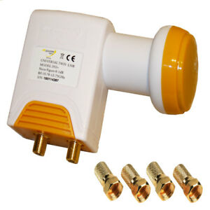 Golden-Media-Universal-Double-LNB-202-High-Gain-0-1dB-4-K-3D-Full-HD-Lmb-pour