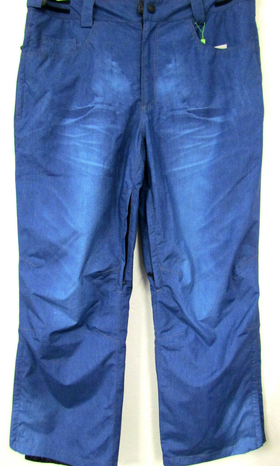 New Men's Brands Ski Snowboard Trousers Jeans Look Adjustable bluee Large Size XL