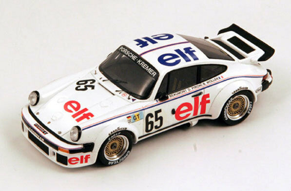 SPARK Porsche  934 No.65 Le Mans 1976 Bob Wollek - Didier Pironi  S3402 1 43  les clients d'abord