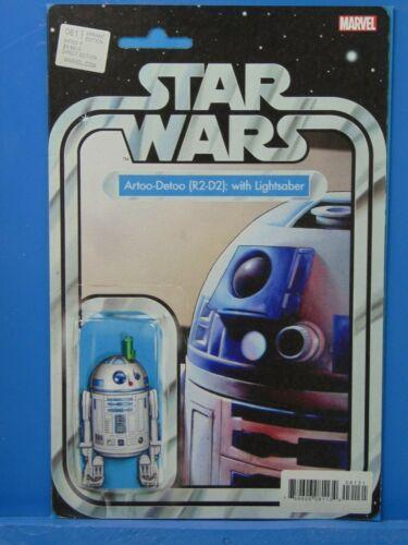 Star Wars #61 R2-D2 with Lightsaber Action Figure Variant Marvel Comics HP1884