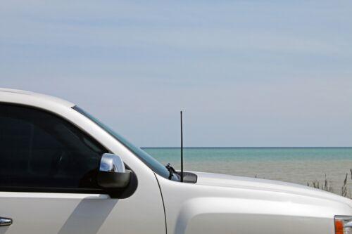 "ALL-TERRAIN 17/"" RUBBER ANTENNA MAST 1990-2004 Nissan Pathfinder FITS"