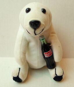 Polar-Bear-Coke-Plush-1993-Vintage