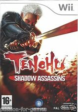 TENCHU SHADOW ASSASSINS for Nintendo Wii - with box & manual - PAL