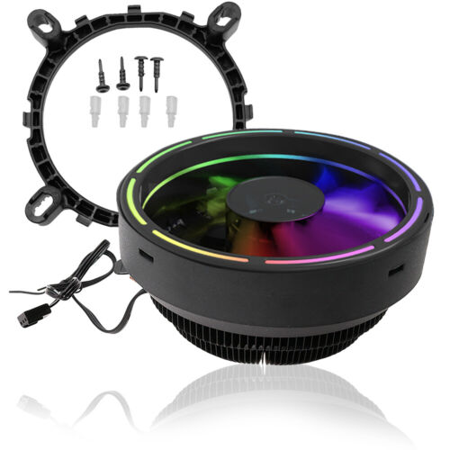 1x For LGA1150//775 AMD4//AM3 AM2+//FM1 Socket LED Computer CPU Cooler Fan US SHIP