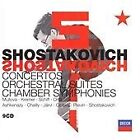 Dmitry Shostakovich - Shostakovich: Concertos; Orchestral Suites; Chamber Symphonies [Box Set] (2006)