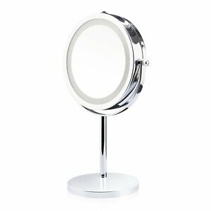 Two Sided Magnifying 1x 5x Swivel Vanity Makeup Mirror