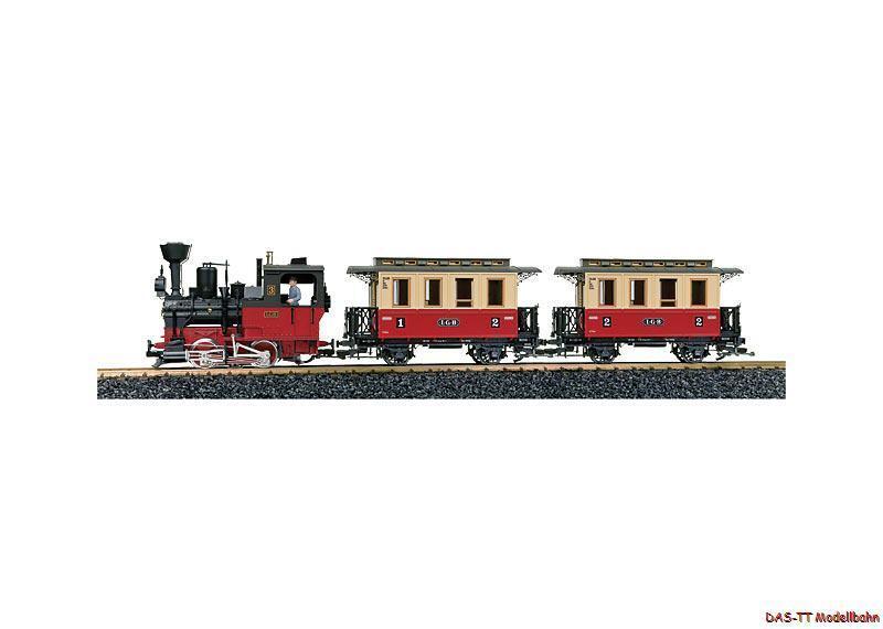 G start-set treno con Sound LGB 70302 NUOVO