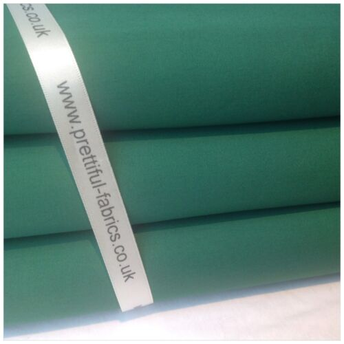 solid colour METRE /& 1//2m FQ/'S sheeting linnings PLAIN 100/% Cotton Fabric