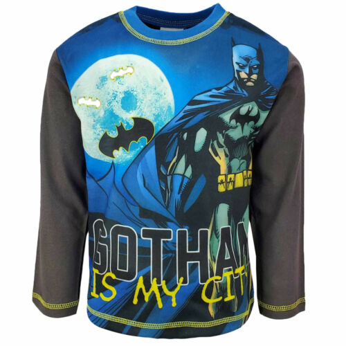 Children/'s Boys Batman Pyjama Set kids Nightwear//Sleepwear 4-10 Years