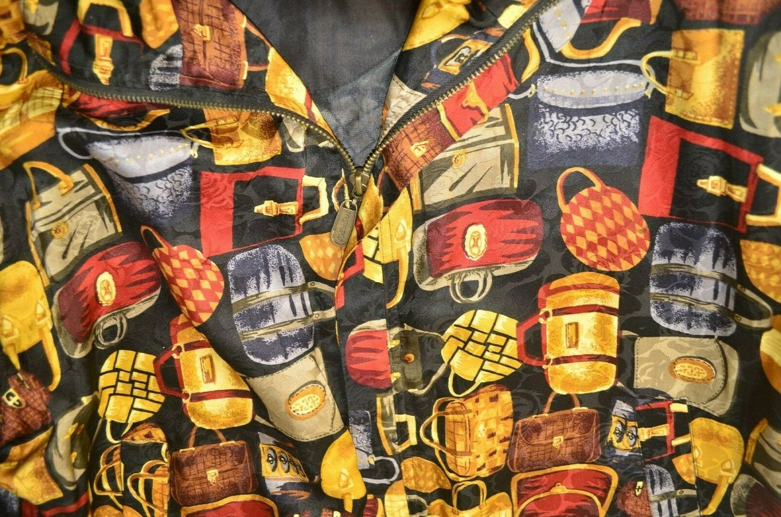 VINTAGE Fuda International Women's 100% Silk Jack… - image 2