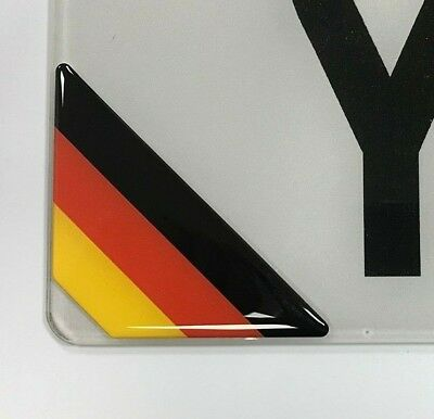 60mm DIAMETER HIGH GLOSS DOMED GEL FINISH Nurburgring Sticker//Decal