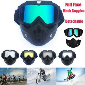 well known incredible prices save up to 80% Motorcycle Motocross Helmet Full Face Mask Goggles Riding Shield ...