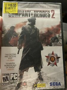 Pc Game Company Of Heroes 2 Pc 2013 New Sealed Ebay