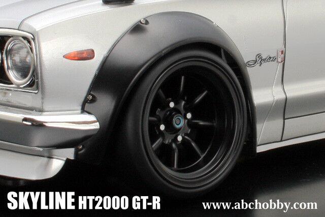 ABC-HOBBY 66132 1 10 10 10 Nissan cieloline ht2000 GT-R M. larghezze radhäusern cb7e11