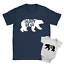 Daddy Bear Baby Bear Duo Babygrow and T-Shirt New Baby Arrival Father Gift