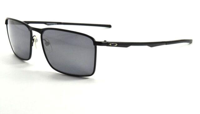 52b444561a Oakley Conductor 6 Sunglasses OO4106-01 Matte Black Frame W  Black Iridium  Lens