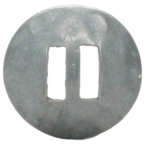"""Hammered Slotted Concho Pewter Oxide 1-1//2/"""" 7632-51S"""