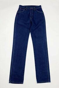 Wrangler-jeans-uomo-donna-usato-W30-L36-tg-44-gamba-dritta-denim-boyfriend-T6114