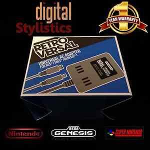 AC-Adapter-Power-Supply-for-NES-SNES-Super-Nintendo-Sega-Genesis-1-NEW-NIB