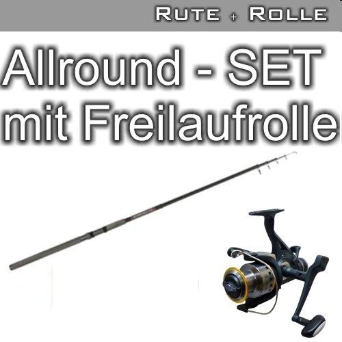 Allround - Set mit Freilaufrolle  2.10 20-60g NEW  | Vorzüglich