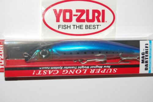 "yo zuri mag darter floating 6/"" 2oz r1216-hiw weight transfer long cast  sardine"