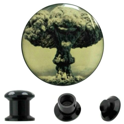 6mm-25mm oreja Plug bomba atómica nuclear hongo nuclear atornilla Bomb nuclear screw túnel nuevo