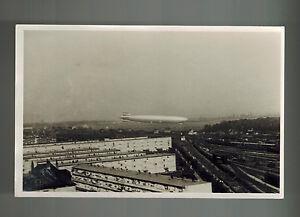 Mint Original Germany Hindenburg Zeppelin Flying real picture postcard LZ 129
