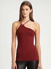 NWT Helmut Lang Asymmetrical Layering Tank Top Fever Red P XS
