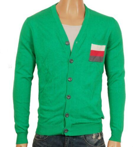 da uomo verde Cardigan in maglia a in maglia maglia lavorata UU7ZTY
