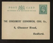 GB KE7 BEDFORD CONSUMERS ECONOMICAL COAL CO STATIONERY CARD STO
