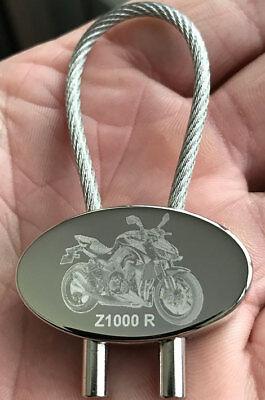 Fotogravur Schlüsselanhänger n zB Vorl Ihre KLE500 KLR650 KLV1000 VN1500 Z440
