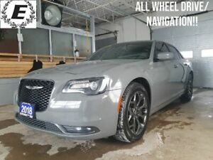 2018 Chrysler 300 ALL WHEEL DRIVE/NAVIGATION/LEATHER!!